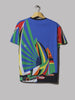 Polo Ralph Lauren Classic Fit Cotton Graphic Tee (Newport Sailing Scarf)