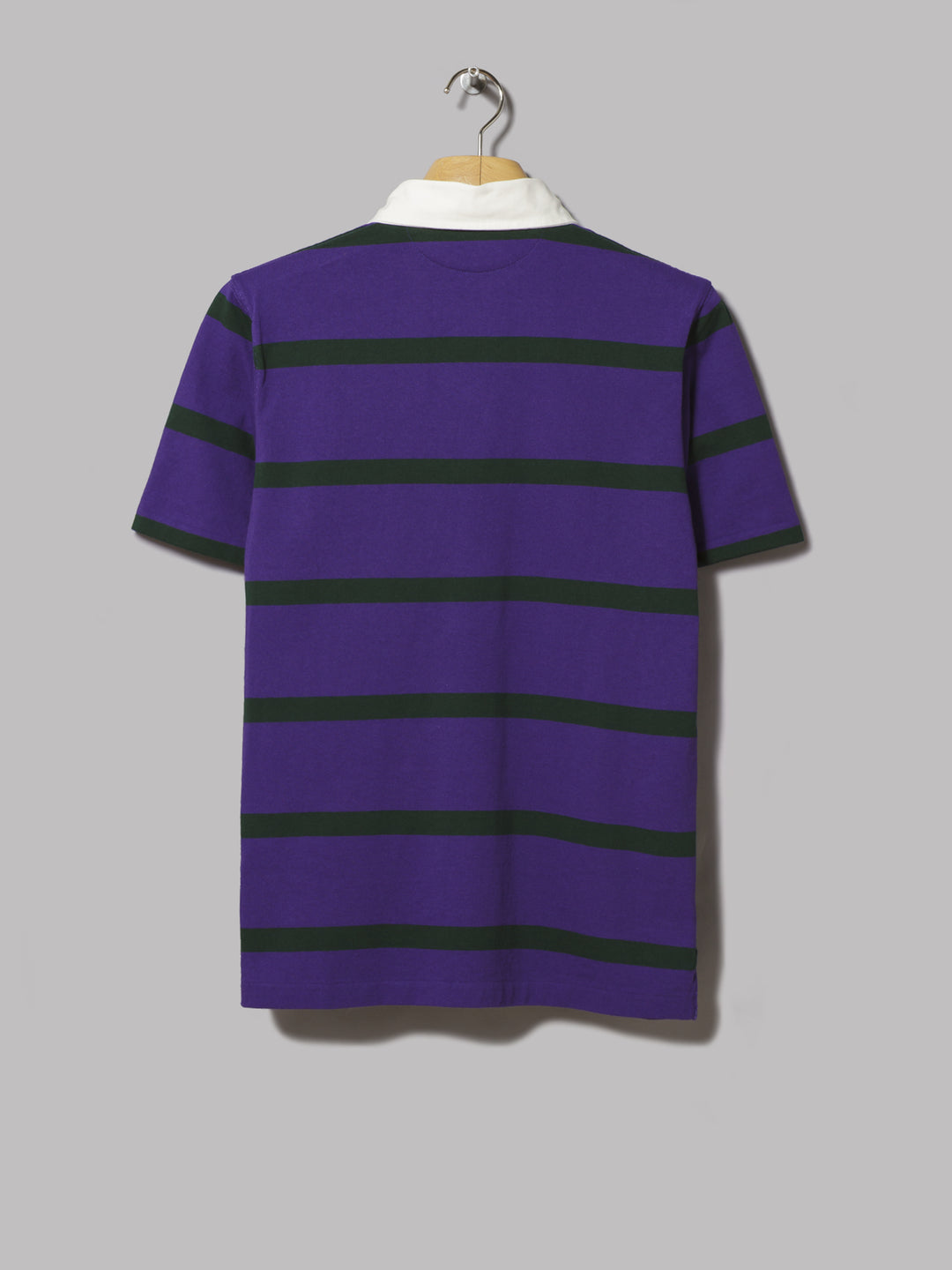 Sleeve Lauren Green Rugby College Polo Shirtchalet Purple Ralph Short Striped 7vmI6Ygbfy