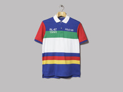 Polo Ralph Lauren RL-67 1993 Classic Fit Polo (Uneven Stripe Multi)