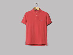 Polo Ralph Lauren Custom Fit Polo (Sentry Red)