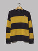 Polo Ralph Lauren Crest Logo Striped Knit (Gold / Navy)
