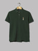 Polo Ralph Lauren Custom Slim Fit Bear Polo (College Green)
