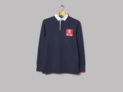 Polo Ralph Lauren Classic Fit Rugby CP-93 Polo (Cruise Navy / Deckwash White)