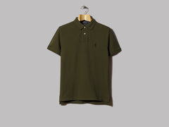 Polo Ralph Lauren Custom Fit Polo (Company Olive)