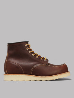 Red Wing 6 Inch Classic Moc Toe Boot (Navy Portage Leather)
