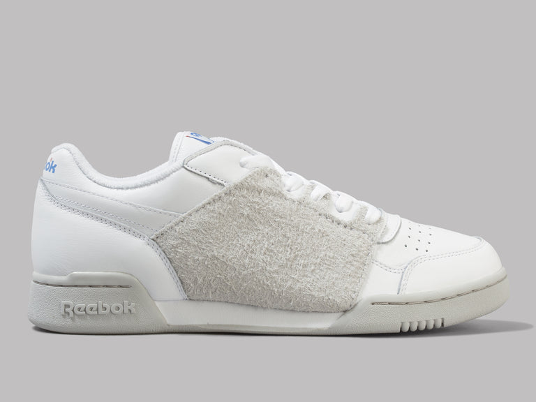 76d7d972e66e Reebok Nepenthes X Reebok Workout Plus (White   Steel   Blue) – Oi Polloi
