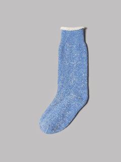 RoToTo Denim Tone Crew Socks (Ice Denim)