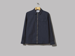 Schnayderman's Twill Tech Zipshirt (Navy)