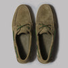 Sebago Dockside Portland Suede (Green Military)