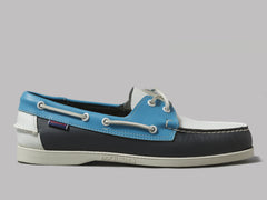 Sebago Portland Spinnaker (Navy / Light Blue / White)