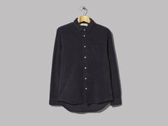 Séfr Leo Bathrobe Shirt (Dark Navy)