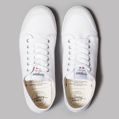 Spring Court G2 Classic Canvas (White)