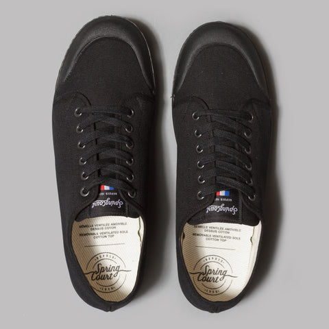 Spring Court G2 Classic Canvas (Black)