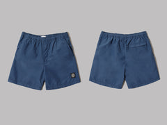 Stone Island Brushed Nylon Garment Dyed Swimshorts (Avio)