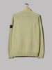 Stone Island Light Raw Cotton Zip Neck Knitwear (Olive)
