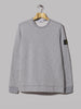 Stone Island Mouline Fleece Sweater (Dark Grey Heather)