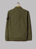 Stone Island Garment Dyed Old Effect One Pocket Zip Overshirt (Olive)