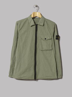 Stone Island One Pocket Overshirt (Salvia)