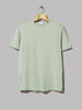 Sunspel Classic Short Sleeve T-Shirt (Aqua Leaf)