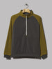 The North Face EX 1/4 Zip Fleece (Asphalt Grey / Fir Green)