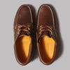 Timberland Authentic 3 Eye Handsewn Boat Shoe (Brown Full Grain)