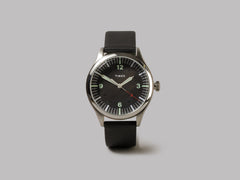 Timex Archive Waterbury United (Steel / Black Dial / Black)