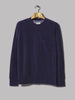 Universal Works Loose Pullover (Terry Fleece Navy)