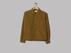 Universal Works Uniform Shirt (Fine Cord Mustard)