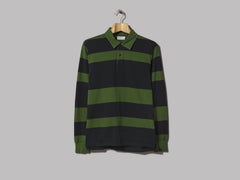 Universal Works Rugby Shirt (Rugby Stripe Green)