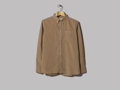 Universal Works Everyday Shirt (Super Fine Cord Sand)