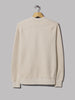 Universal Works Classic Crew Sweatshirt (Dry Handle Loopback Ecru)
