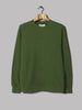 Universal Works Classic Crew Sweatshirt (Dry Handle Loopback Green)