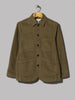 Universal Works Bakers Jacket (Lovat Moleskin)