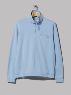 Universal Works Zip Neck (Sky Blue)