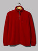 Universal Works Zip Neck (Red Diag Loopback)