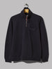 Universal Works Zip Neck (Navy Diag Loopback)