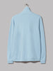 Universal Works Zip Neck Sweatshirt (Cornish Blue Diagonal Loopback)