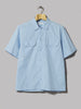 Universal Works Utility Short Sleeved Shirt (Sky Blue)
