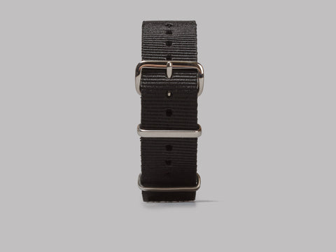 M.W.C. 20mm NATO Watch Strap (Black)