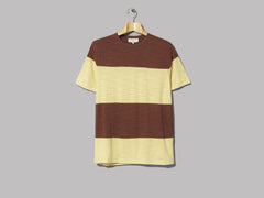 Y.M.C. Baja Tee (Brown / Yellow)