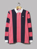 adidas Rugby Shirt (Night Indigo / Real Pink)