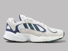 adidas Yung-1 (Footwear White / Noble Green / Dark Blue)