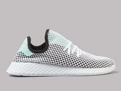 adidas Deerupt Runner (Core Black / Easy Green / White)