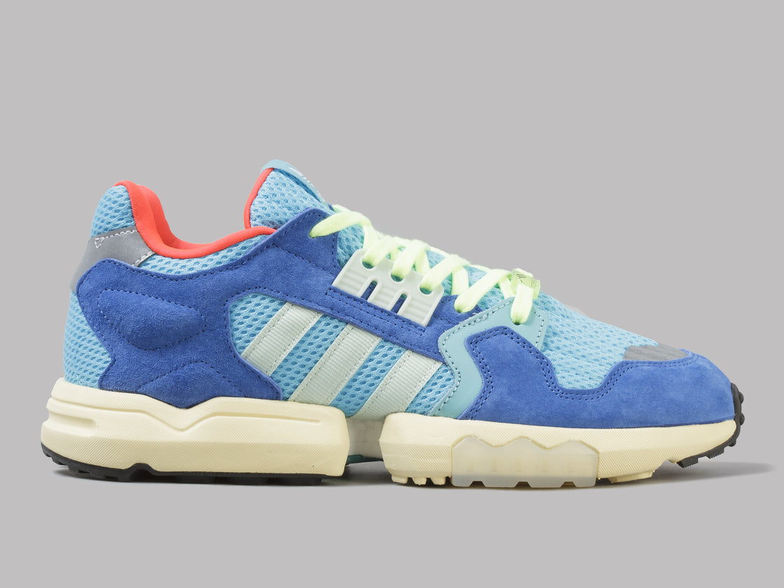first rate 776bd 4250c adidas ZX Torsion (Bright Cyan / Linen Green / Blue)