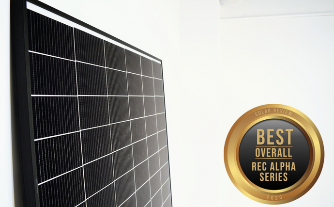 REC Alpha Series wins Best Solar Panel 2020
