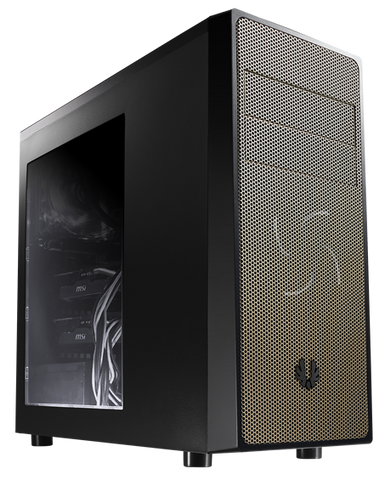 BITFENIX NEOS MID TOWER BLACK & GOLD - 991 Solutions - RSA  - 1