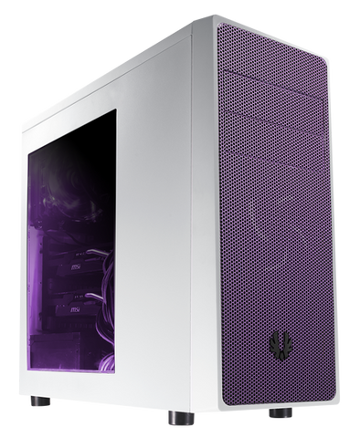 BITFENIX® NEOS MID TOWER WHITE & PURPLE - 991 Solutions - RSA  - 1