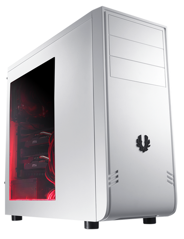 BITFENIX® COMRADE WHITE WINDOW - 991 Solutions - RSA  - 1