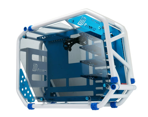 IN-WIN CA03 D-FRAME 2.0 WHITE+BLUE - 991 Solutions - RSA  - 1