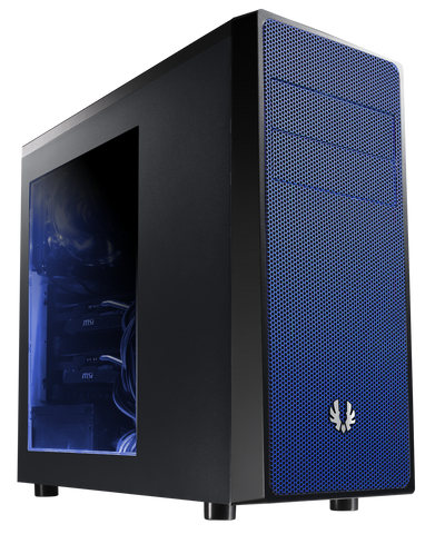 BITFENIX NEOS MID TOWER BLACK & BLUE - 991 Solutions - RSA  - 1